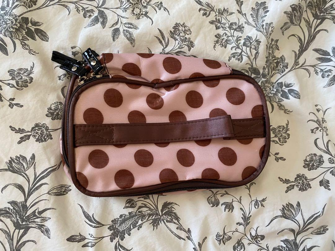 Unused, Two-Tiered Makeup Bag
