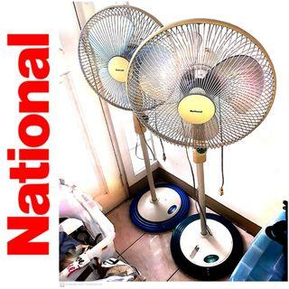 2 pcs National Stand Fan 1 working 1 not working Buy1Take1