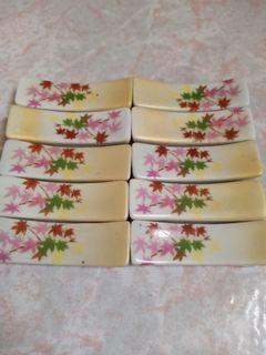 十個陶瓷筷子毛筆畫筆架