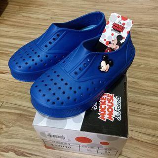 迪士尼兒童洞洞鞋 尺寸20