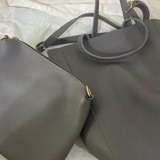 [包包]手提包 側背包 兩用包 /隨貨附他牌防塵袋