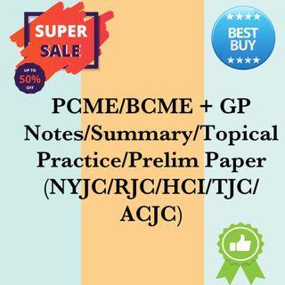 PCME + GP A Levels Bundle