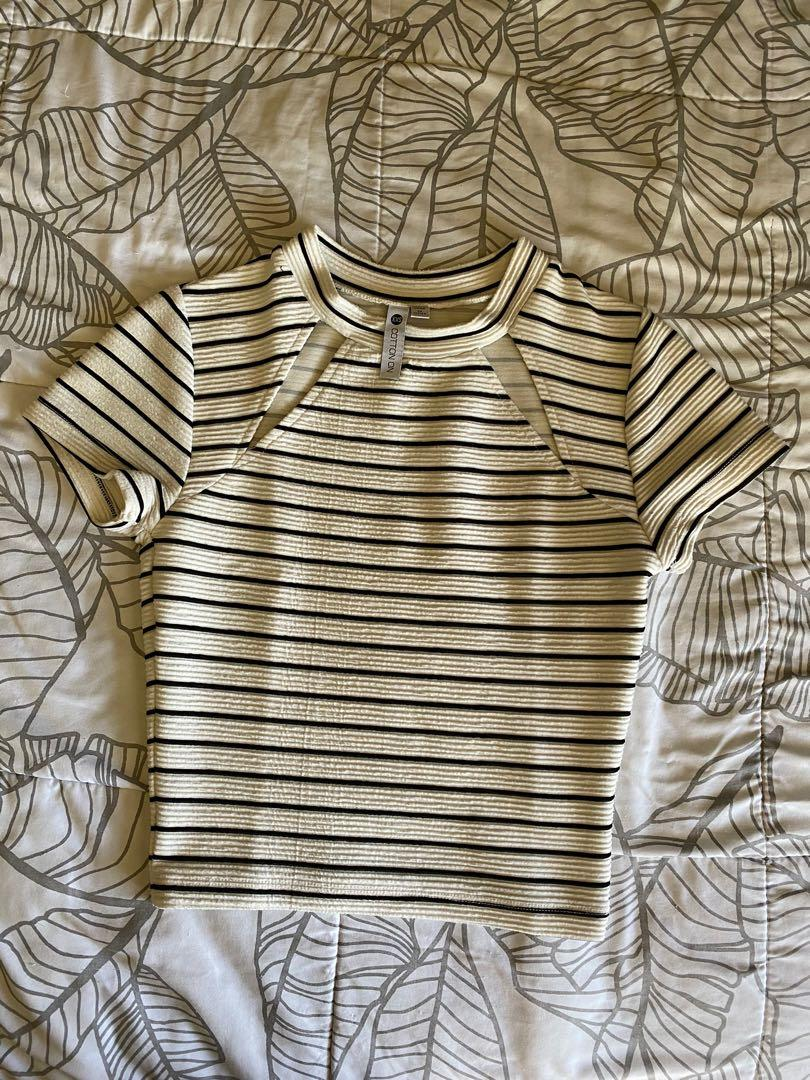 Cotton On cut out crop top