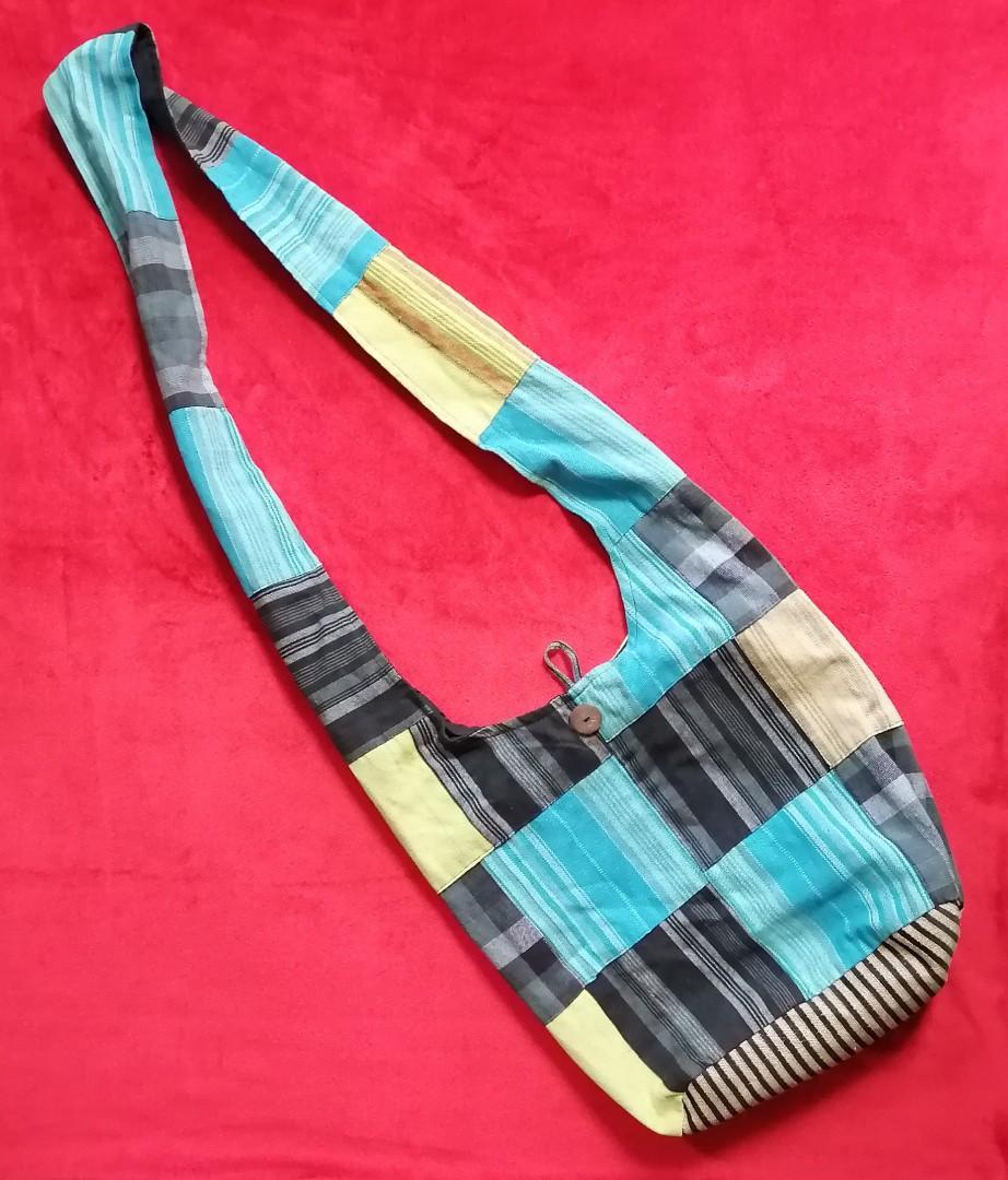 Cross Body Sling Patchwork Bag