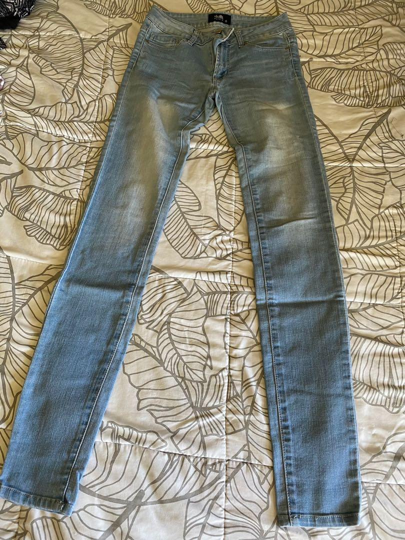Dotti denim blue skinny jeans