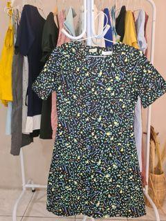 Dress warna-warni