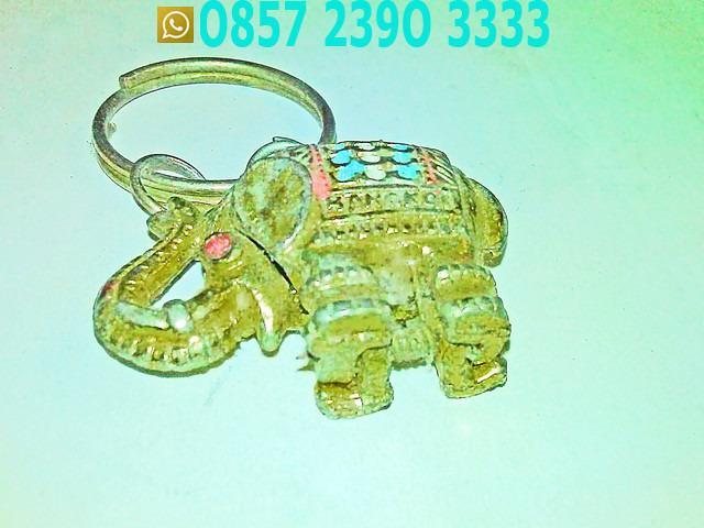 Gajah Kuning Gantungan Kunci JWB5581
