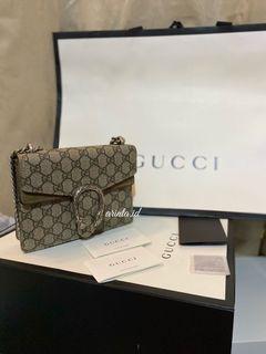 Gucci Dionysus GG mini preloved authentic