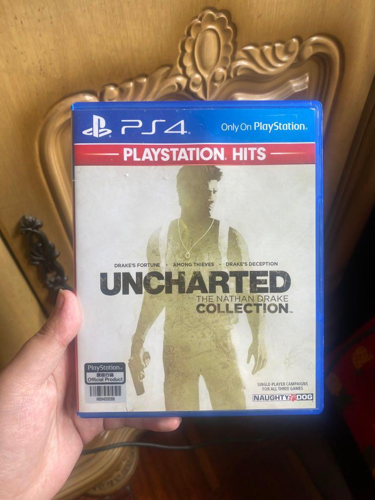 Kaset PS4 Uncharted collection