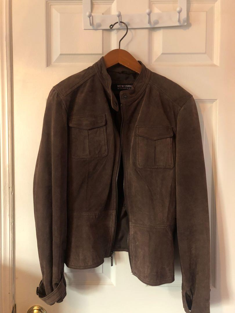 Leather Jacket New York & Company