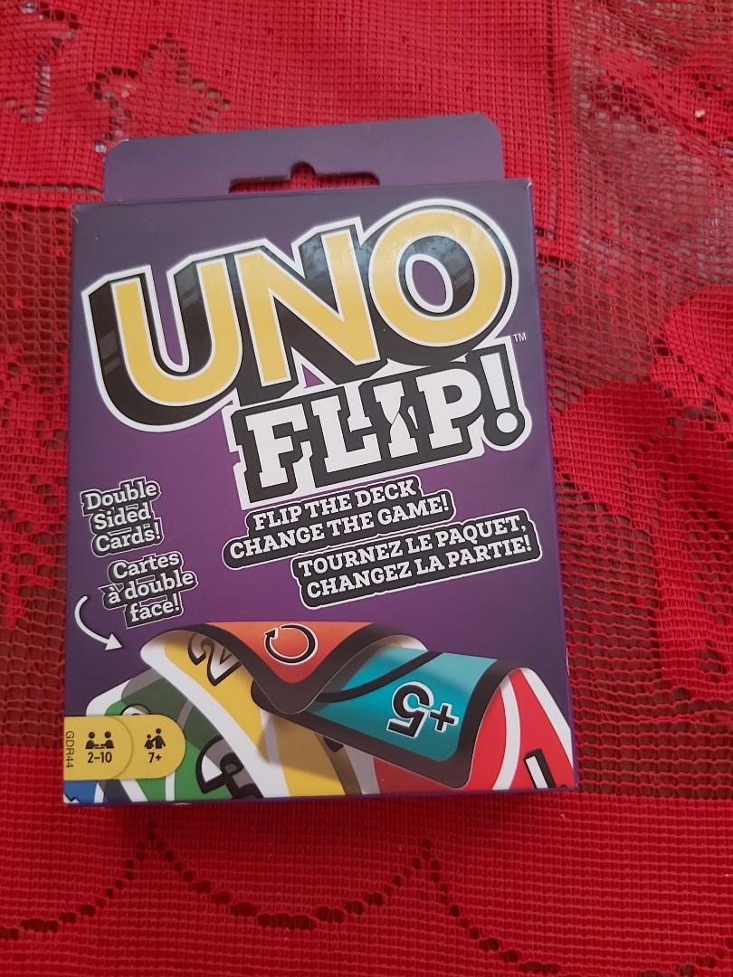 LNIB) ages 7+ Uno Flip 2-10 players