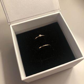Mejuri 14k gold rings