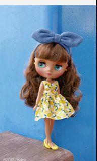 Midi Blythe Doll- Cool Pool Lemonade