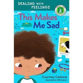 Preloved children book - This Makes Me Sad - Reading Level 2