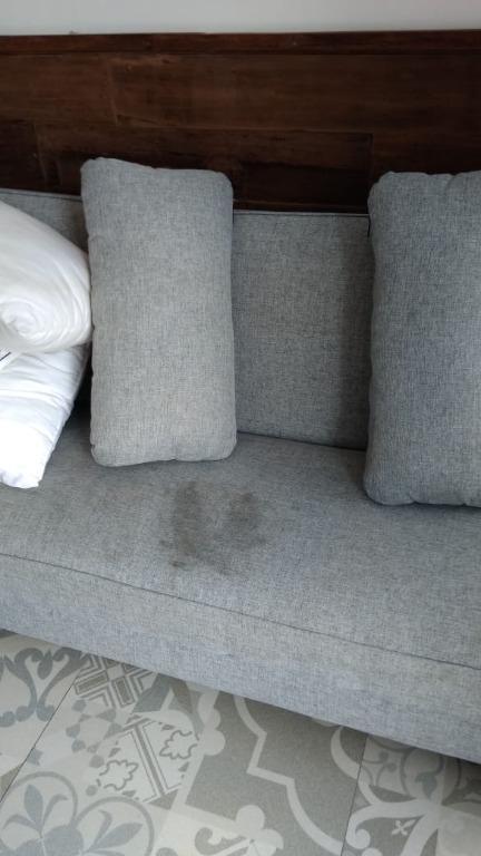 Sofa 2 seat sofabed (cuci sofa cuci sofabed murah Jogja)