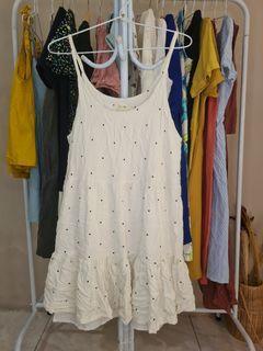 Tanktop dress polka