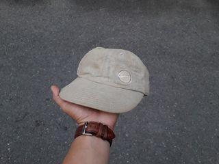 Vtg Nike Embroidered cream hat