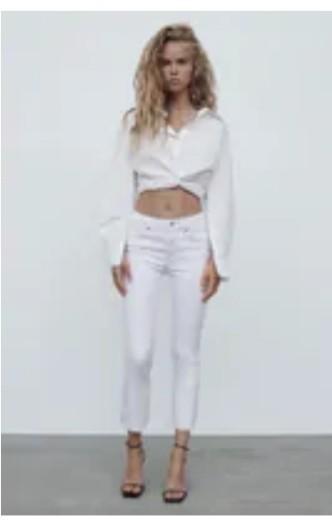 Zara_White_Denim_Pants
