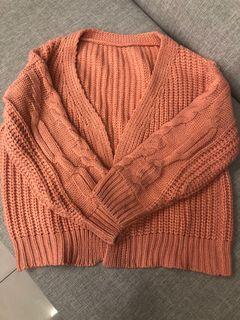 針織毛衣外套