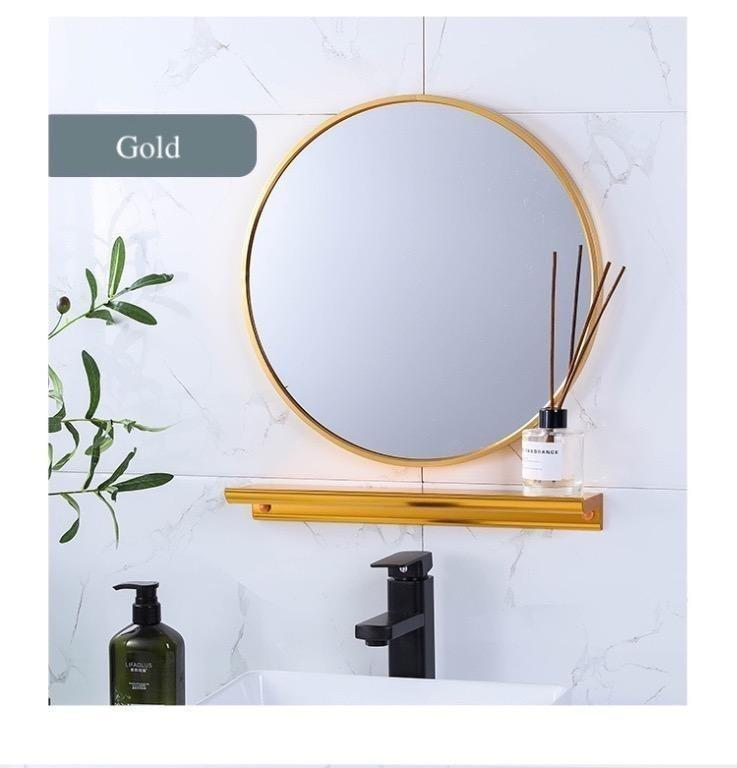 Bd Y Makeup Mirrors 2 Face Wall Mount, Makeup Mirror Lighted Wall Mount