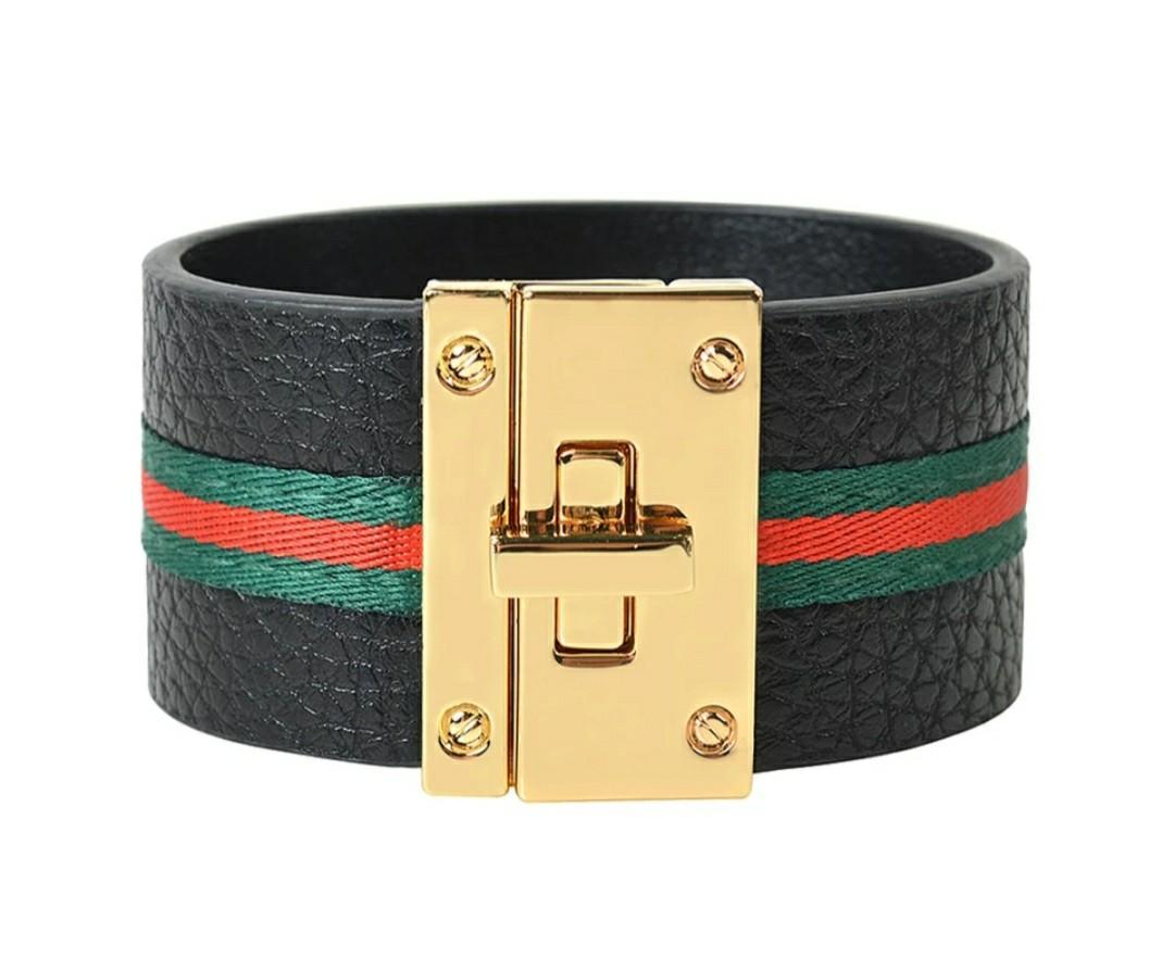 Gucci Style Cuff Bracelet