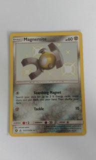 Hidden Fates Magnemite Shiny card