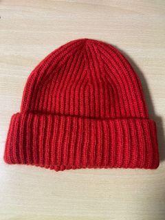 H&M毛帽❤️紅色 #618