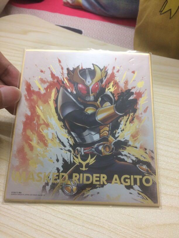 Kamen Rider / Masked Rider Agito Shikishi Art Board