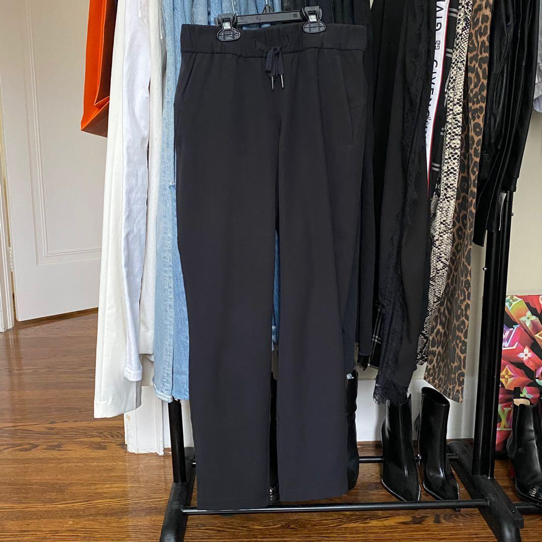 Lululemon on the fly 7/8 black joggers