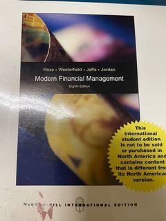 Modern Financial Management