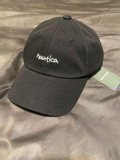 NAUTICA 刺繡 老帽 黑色