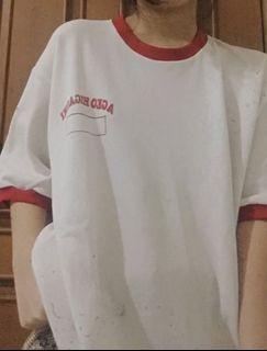 Red White Japanese Tshirt