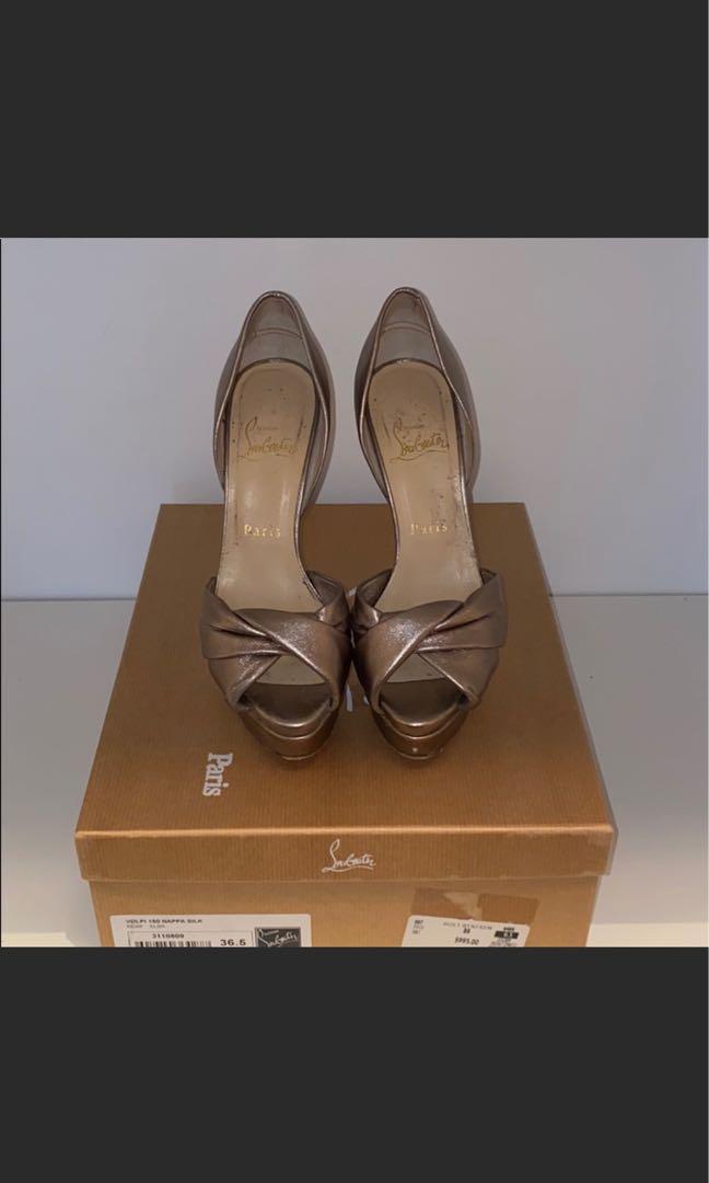 Used | Christian Louboutin Volpi Heels