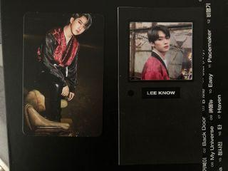 WTS SKZ CHANGBIN PC & LEE KNOW LIMITED FRAME