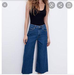 Zara Cullote Jeans