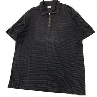 90's CP Company Stripe Polo shirt 條紋polo衫