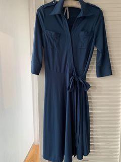 專櫃品牌春裝。五分袖洋裝