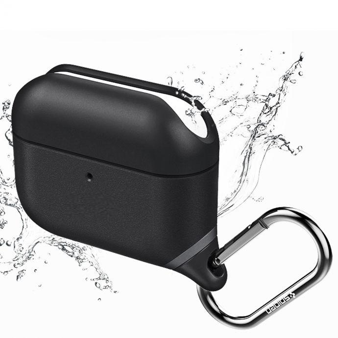 Apple AirPods Pro Waterproof Silicone Cover With Keychain in Retail Box