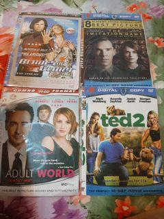 Dvd blades of glory, imitation game, adult world, ted 2