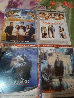 Dvd digging for fire, spanglish, bodyguard, automata