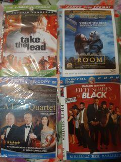 Dvd take the lead, room, a late quartet, fifty shades of black