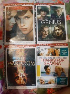 Dvd the danish girl, genius, war room, thanks for sharing