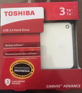 FDHD Toshiba 3TB Advance 3.0 (Hardisk External)