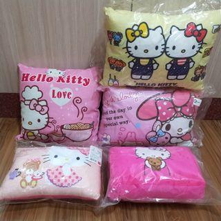 ♥️可換♥️Hello Kitty抱枕 美樂蒂抱枕 枕頭 kitty暖手枕 娃娃機 交換禮物