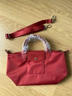 Long Champ Le Pliage Neo Small  (red)