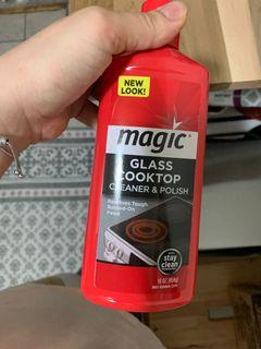 MAGIC glass cooktop cleaner&polisher