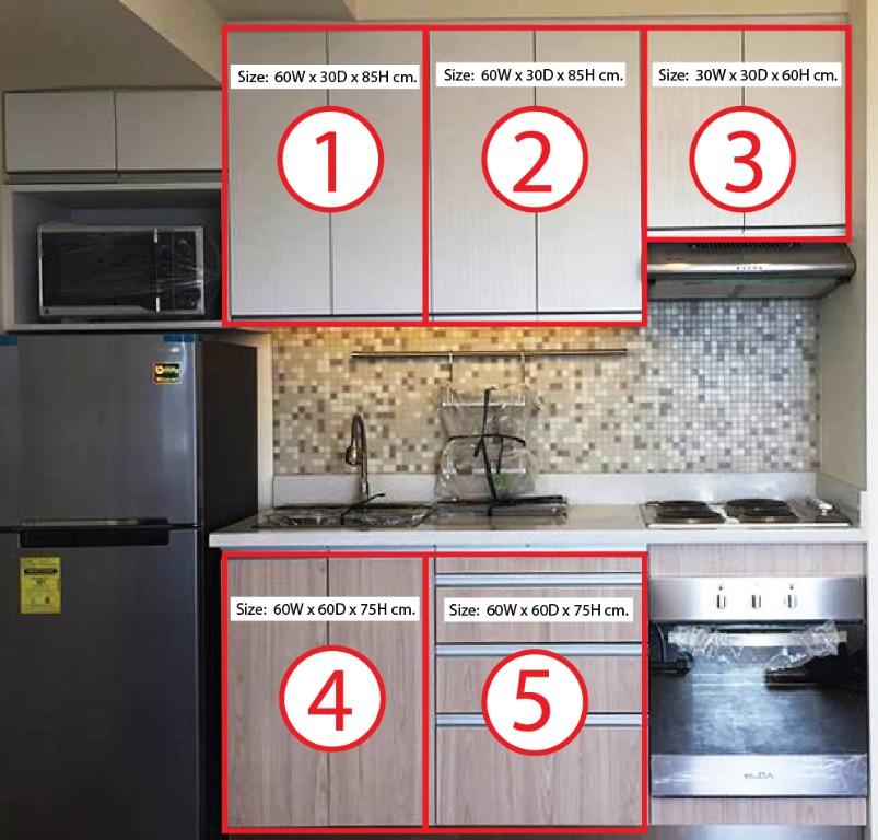 Modular Kitchen Cabinet Furniture Home Living Furniture Shelves Cabinets Racks On Carousell