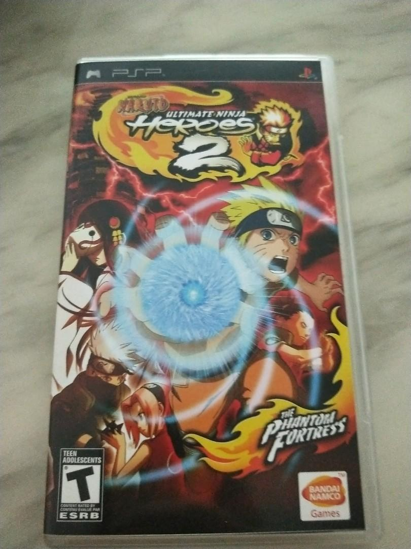 Naruto Ultimate Ninja Heroes 2 Psp Toys Games Video Gaming Video Games On Carousell