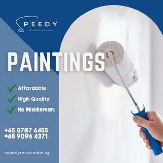 Paintings works, landed house , HDB , condominium house paintings please call or WhatsApp to +65 90964371