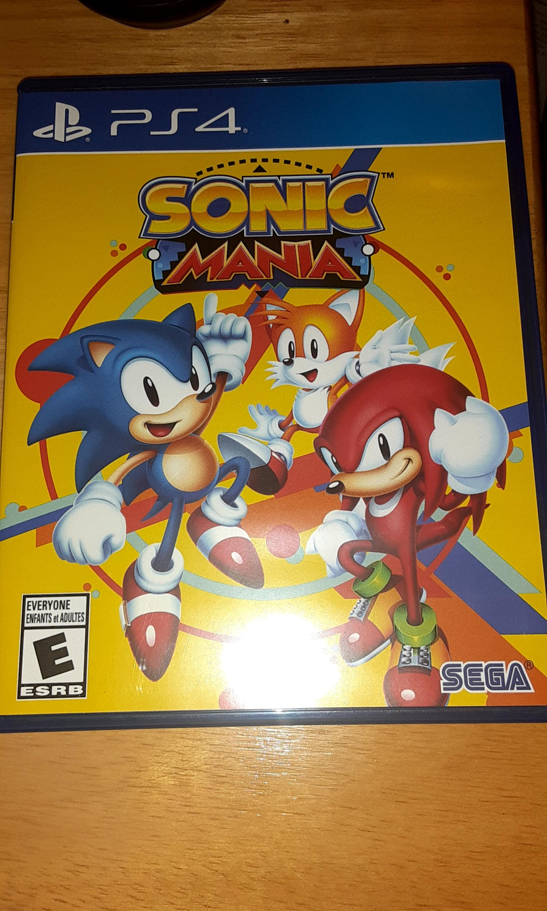 PS4 classic games SONIC MANIA and DRIVECLUB